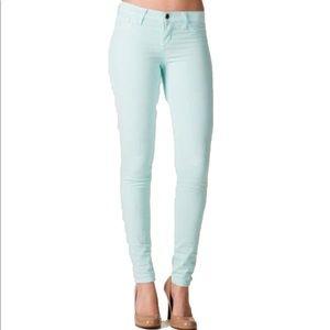 Francesca's Collections Jeans - 🔴LAST CALL🔴 Francesca's True Color Mint Jeans